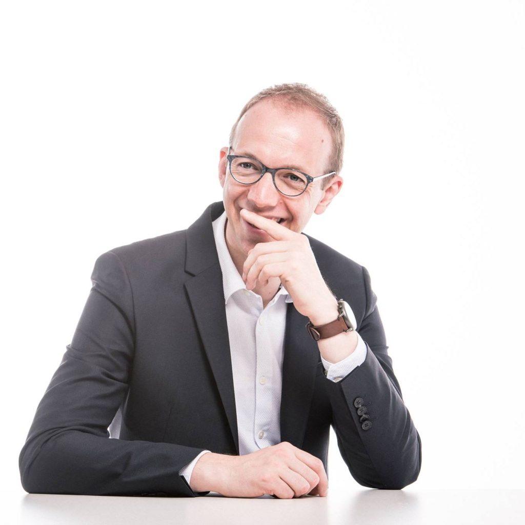 Portrait de Frédéric Hallez - président du CPAS de Comines-Warneton